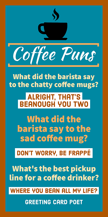 puns about coffee image