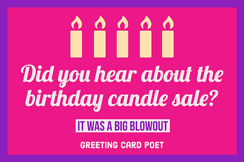Birthday Puns and Memes That Take the Cake | Greeting Card Poet