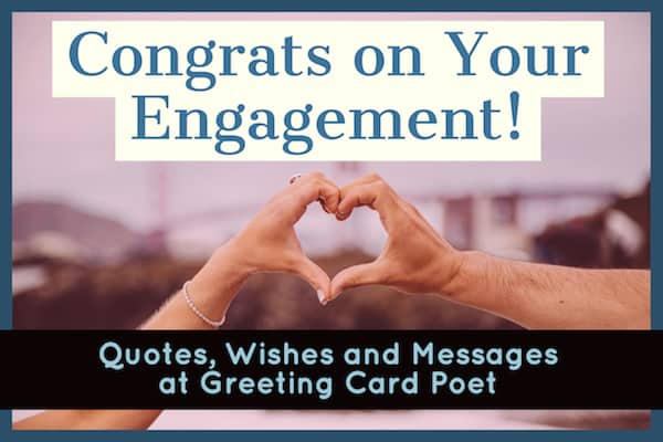 Congratulations on your engagement wishes to couple getting married engagement quotes m4hsunfo