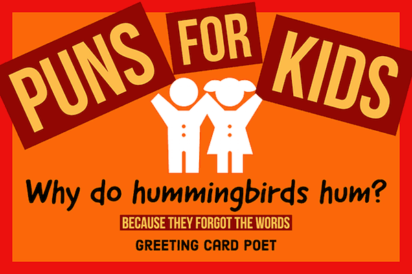 Fun Puns for Kids That Bring Out the Laughs | Greeting Card Poet