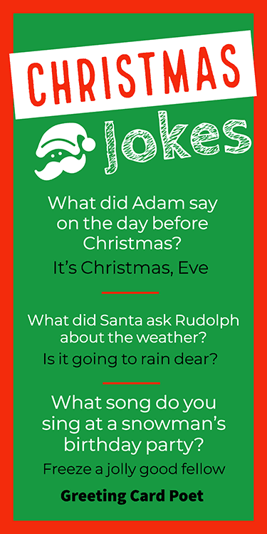 Christmas Jokes For Every Day of December | Greeting Card Poet
