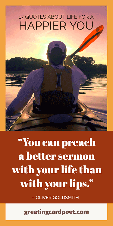 You can preach a better sermon with your life than your lips quote image