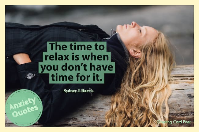 The time to relax image