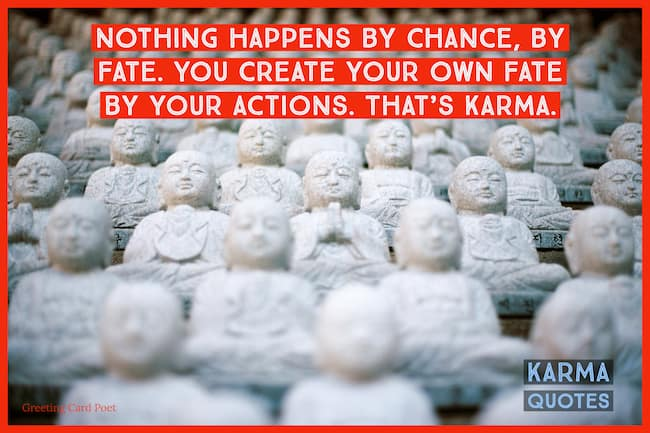 Karma quotes image