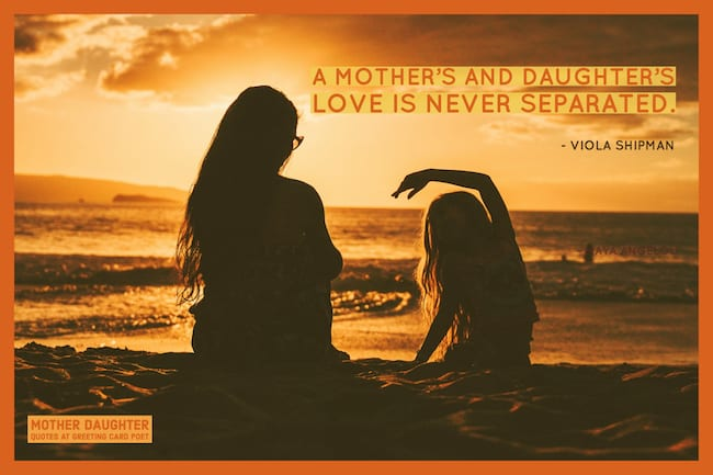 mother daughter quotes image