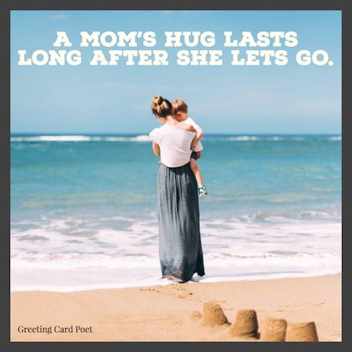 A mom's hug meme