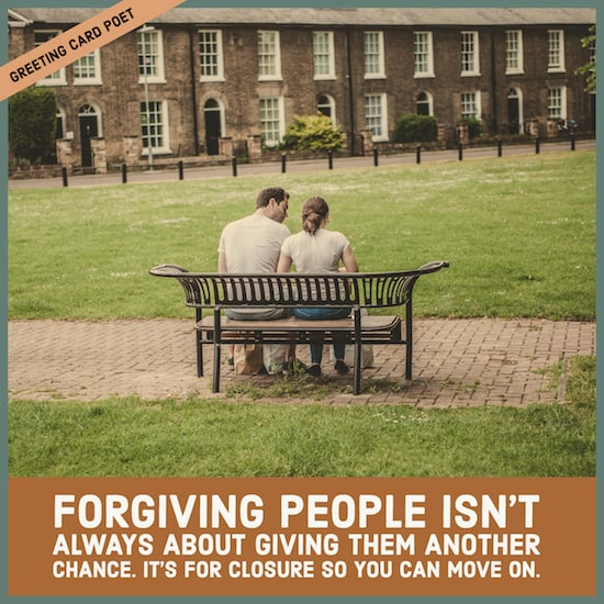 Forgiving people meme