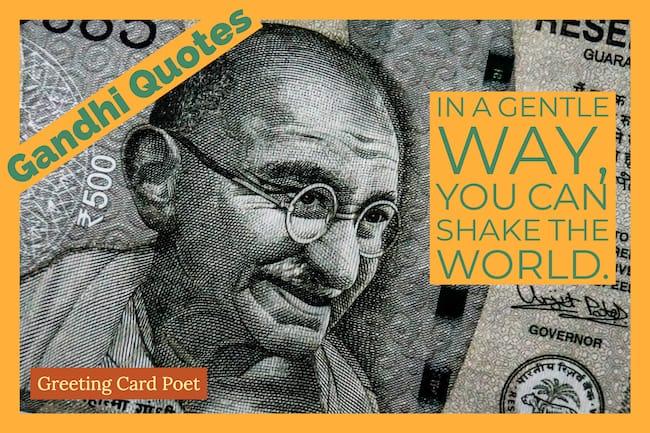 Gandhi Quotes image