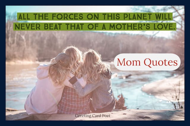 quotations about mothers image