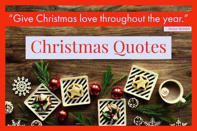 Christmas Quotes and Sayings