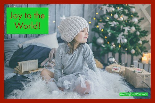 Joy to the world image