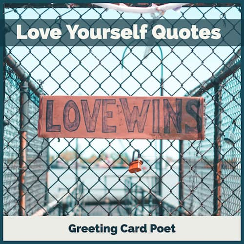 Loving yourself image