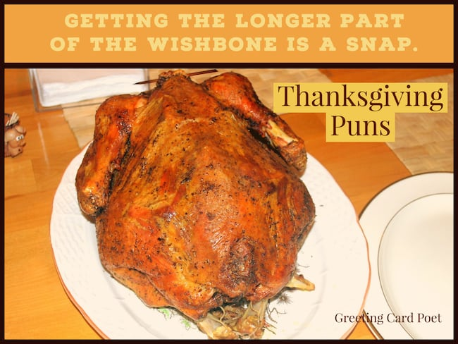 Thanksgiving puns image