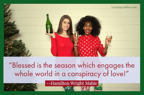 a conspiracy of love - Christmas quotes