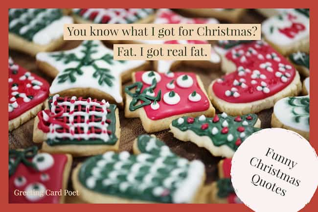 Christmas overeating image