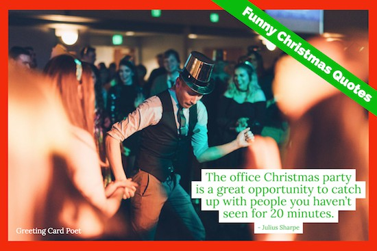 office xmas party quotation image