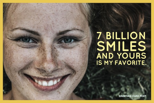7 Billion Smiles crush meme