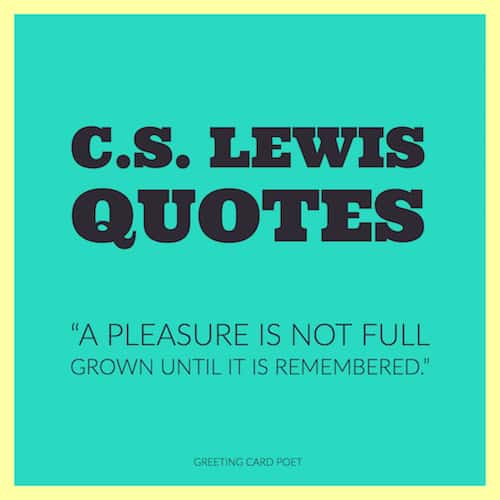 CS Lewis Quotes image