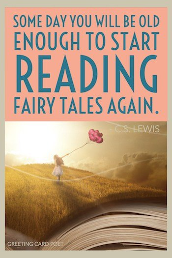 Fairy tales quote by C.S. Lewis image