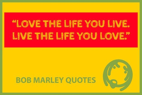 Bob Marley quote meme