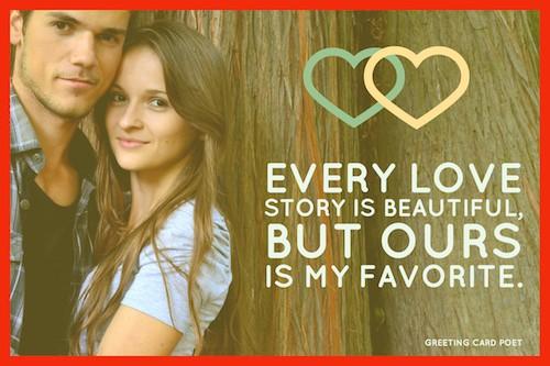 Valentine's Day message image