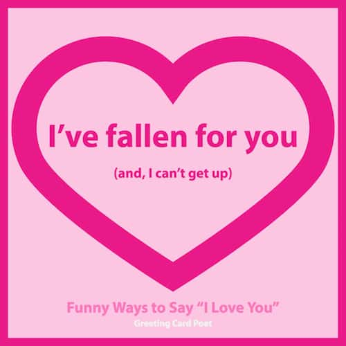 I've fallen for you image