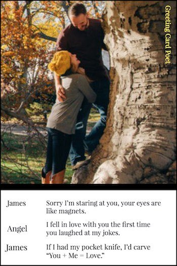 funny captions for couples image
