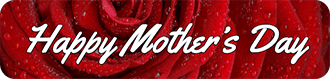 Happy mother's day button image