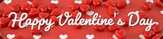 Happy Valentines Day link button
