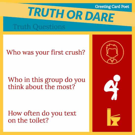Good Truth or Dare Questions image