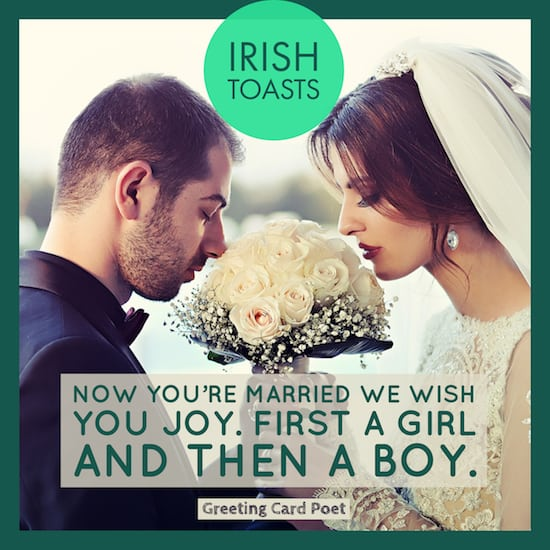 Irish wedding toast meme