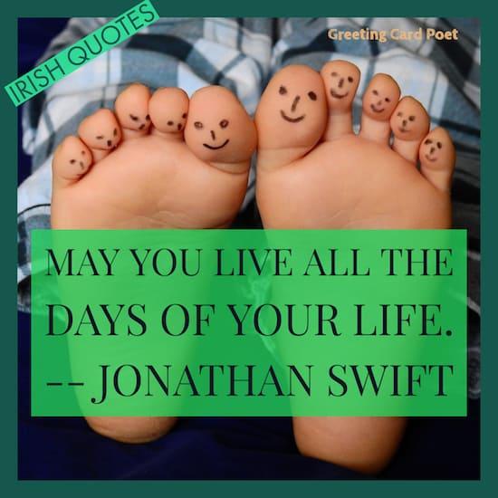 Jonathan Swift Quote image