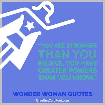 Wonder Woman quotes button image