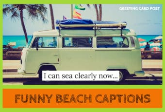 beach captions - funny and good image