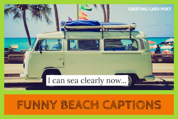 Funny Beach Instagram Captions image