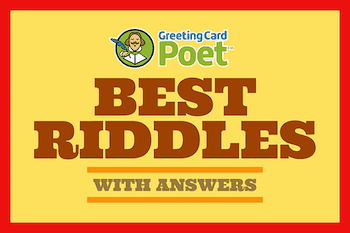 best riddles with answers button