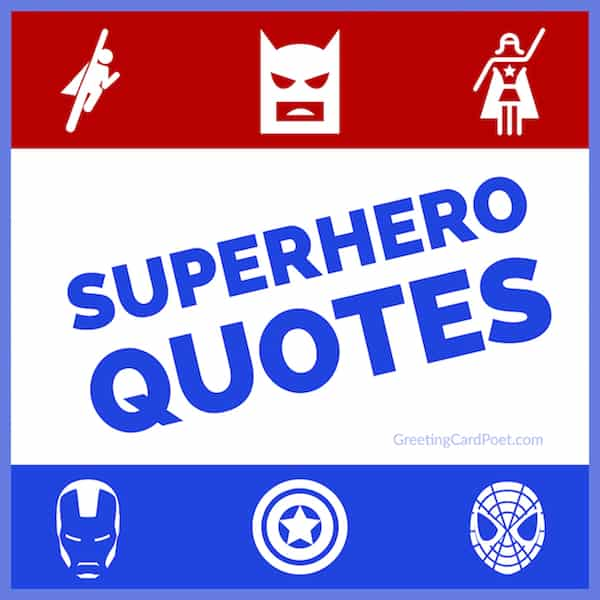 best superhero quotes image