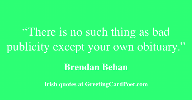 funny Irish quotes image