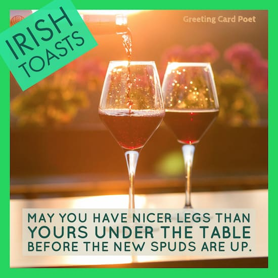 funny Irish toast image