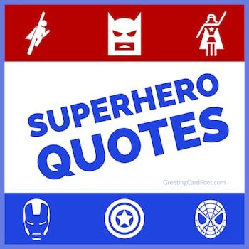 superhero quotes button image