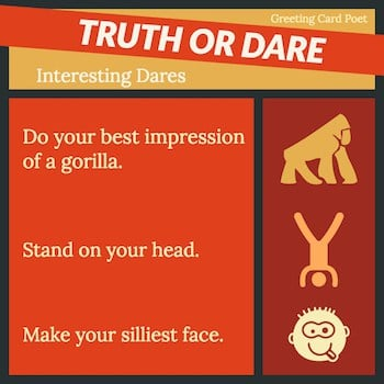 truth or dare button image