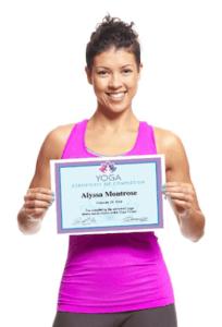 receiving a yoga award image