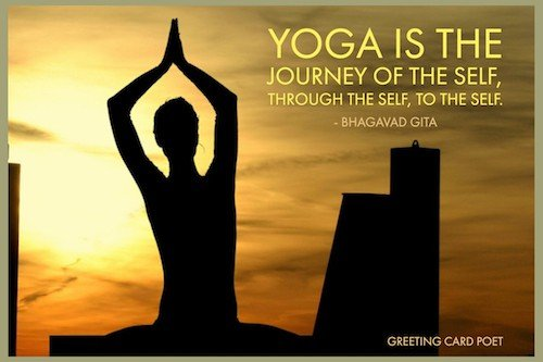 yoga is the journey of the self image