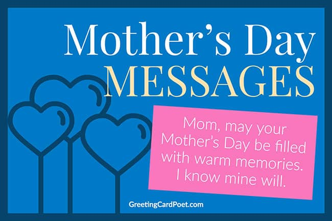 Mother's Day Messages image