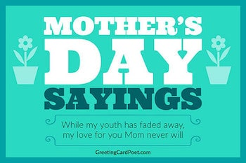 Mother's Day Sayings button image
