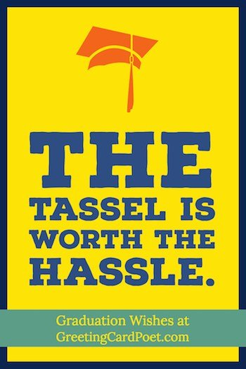 The Tassel is worth the Hassle image