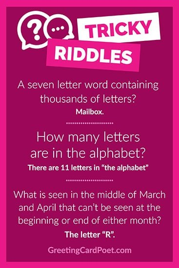great riddles image