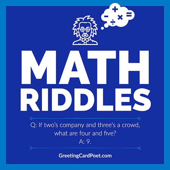 Best Math Riddles image