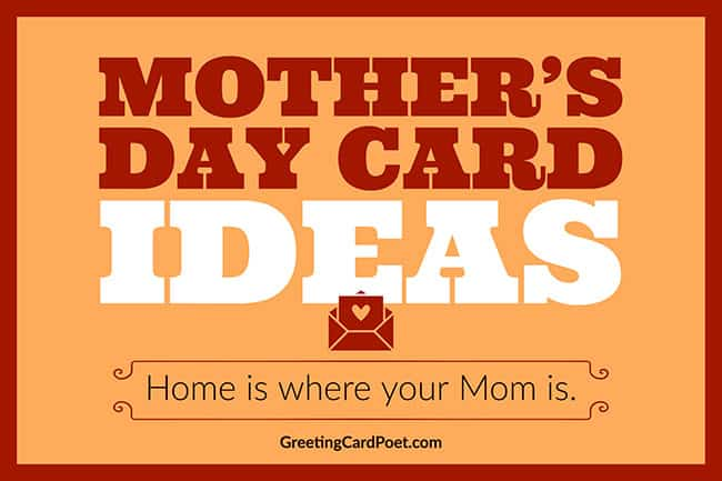 Happy Mother's day card ideas image