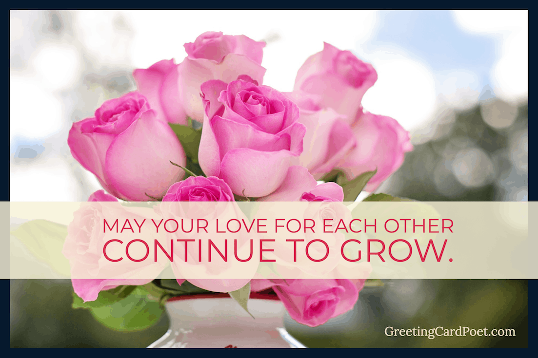 May your love for each other continue to grow image